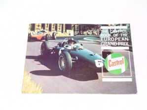 CASTROL BOOK OF THE EUROPEAN GRAND PRIX
